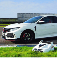 Honda, Memes, and Boost: Honda has made a custom lawnmower to celebrate 25 years of Type R 💨 . . carmemes jdm boost turbo tuner carsofinstagram carswithoutlimits instacars supercar carspotting supercarspotting stance stancenation stancedaily racecar blacklist cargram carthrottle