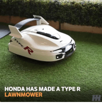 Honda, Memes, and Boost: HONDA HAS MADE A TYPE R  LAWNMOWER Honda made this lawnmower to celebrate 25 years of Type R. . . carmemes jdm turbo boost tuner carsofinstagram carswithoutlimits carporn instacars supercar carspotting supercarspotting stance stancenation racecar stancedaily racecar blacklist cargram carthrottle honda typer