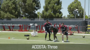 .@49ers WR @MarquiseGoodwin is FAST. But @Chivas' Antonio Briseño might just be faster…   This is #GameRecognizeGame 🏈⚽  @pollobv   @MJAcostaTV   @nflmx   @JUGO_tv https://t.co/LfCBLCcrES: Hone of the San Francisco 4rg  ft e Sa  Co 49ers  rformance  ACOSTA: Three .@49ers WR @MarquiseGoodwin is FAST. But @Chivas' Antonio Briseño might just be faster…   This is #GameRecognizeGame 🏈⚽  @pollobv   @MJAcostaTV   @nflmx   @JUGO_tv https://t.co/LfCBLCcrES
