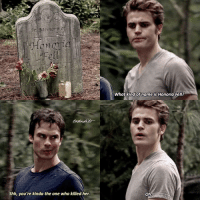5.04 • I hate remaking old edits I feel super annoying • Q:Stefan's or Damon's humour? [17,560]: Honen  Shh, you're kinda the one who killed her.  What kind of name is Honoria Fell?  Oh. 5.04 • I hate remaking old edits I feel super annoying • Q:Stefan's or Damon's humour? [17,560]