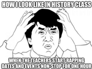Honestly, History teachers are the best rappers...: Honestly, History teachers are the best rappers...