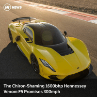 Via @carthrottlenews - Hennessey has revealed its new hypercar at the SEMA show, and some astonishing numbers have been promised: HONEWS  The Chiron-Shaming 1600bhp Hennessey  Venom F5 Promises 300mph Via @carthrottlenews - Hennessey has revealed its new hypercar at the SEMA show, and some astonishing numbers have been promised