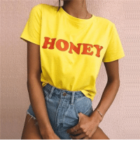 Funny, Honey, and Code: HONEY Honey Tee from @tropic.mantra 30% OFF with code: THINK30
