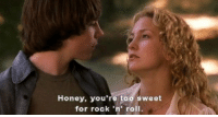 Memes, 🤖, and Honey: Honey, you're too sweet  for rock 'n' roll. via @alburtt check his account out 💓