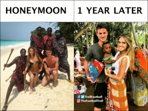 Honeymoon, Memes, and 🤖: HONEYMOON 1 YEAR LATER  si  fTrollFootball  TheFootb Rugani you need to ask questions https://t.co/xDvEoG4Vzy