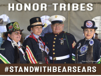 We now have until July 10th to save Bears Ears National Monument - a designation that honors Tribes and protects a cultural landscape.     TAKE ACTION to #StandWithBearsEars: Let Secretary Ryan Zinke know that you don't support the recommendation to shrink Bears Ears at protectbearsears.org/action.: HONOR TRIBES  Photo by Tim Peterso  #STAN DWITH BEAR SEARS We now have until July 10th to save Bears Ears National Monument - a designation that honors Tribes and protects a cultural landscape.     TAKE ACTION to #StandWithBearsEars: Let Secretary Ryan Zinke know that you don't support the recommendation to shrink Bears Ears at protectbearsears.org/action.