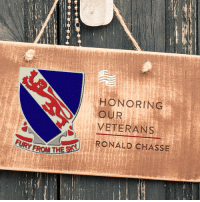 """Thank you to Mary Chasse for submitting Ronald Chasse to Secure America Now's Home of the Free Because of the Brave veteran recognition program! Mary said of Ronald, """"Viet Nam veteran, 1967-1968. He served with the 508th LRPS Division on many patrols. Ron went MIA for several months, but returned home safely, Thank God!""""   Tell Ronald Chasse thank you for his service to our country!: HONORING  OUR  VETERANS  1 RONALD CHASSE  TURY FROM THE Thank you to Mary Chasse for submitting Ronald Chasse to Secure America Now's Home of the Free Because of the Brave veteran recognition program! Mary said of Ronald, """"Viet Nam veteran, 1967-1968. He served with the 508th LRPS Division on many patrols. Ron went MIA for several months, but returned home safely, Thank God!""""   Tell Ronald Chasse thank you for his service to our country!"""