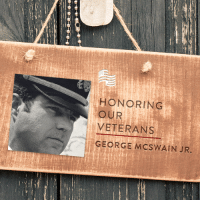 Thank you to Donna Chapman for submitting George McSwain Jr. to be featured in Secure America Now's veteran recognition program - Home of the Free Because of the Brave.  Barbara writes that Lt. Commander George Palmer McSwain, Jr. was a pilot in the U.S. Navy and fought in the Vietnam War. He was shot down in March 1966 and spent 6 1/2 years in the Hanoi Hilton as a POW. He returned in March of 1973, and remained in the U.S. Navy until he retired in 1988, after 20 years service. He also served 3 years in the U.S. Army in Korea, prior to this. He passed away August 6, 2014 in Portland Oregon.  Share to thank George for his sacrifice.: HONORING  OUR  VETERANS  GEORGE MCSWAIN JR. Thank you to Donna Chapman for submitting George McSwain Jr. to be featured in Secure America Now's veteran recognition program - Home of the Free Because of the Brave.  Barbara writes that Lt. Commander George Palmer McSwain, Jr. was a pilot in the U.S. Navy and fought in the Vietnam War. He was shot down in March 1966 and spent 6 1/2 years in the Hanoi Hilton as a POW. He returned in March of 1973, and remained in the U.S. Navy until he retired in 1988, after 20 years service. He also served 3 years in the U.S. Army in Korea, prior to this. He passed away August 6, 2014 in Portland Oregon.  Share to thank George for his sacrifice.