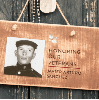 Thank you to Maria Martinez for submitting Javier Arturo Sanchez to be featured in Secure America Now's veteran recognition program - Home of the Free Because of the Brave.   Maria writes that her dad, USMC SSGT Javier Arturo Sanchez, proudly served the United States of America until he was killed in Vietnam on May 3, 1967. Originally from Laredo, Texas, Dad proudly served our great country till the day he, along with his platoon, were ambushed in battle. He left behind a beautiful wife and two little girls. I am honored to share him with you. Thank you for your beautiful sacrifice! GOD BLESS AMERICA.  Share this post to thank Javier for his sacrifice.: HONORING  OUR  VETERANS  JAVIER ARTURO  SANCHEZ Thank you to Maria Martinez for submitting Javier Arturo Sanchez to be featured in Secure America Now's veteran recognition program - Home of the Free Because of the Brave.   Maria writes that her dad, USMC SSGT Javier Arturo Sanchez, proudly served the United States of America until he was killed in Vietnam on May 3, 1967. Originally from Laredo, Texas, Dad proudly served our great country till the day he, along with his platoon, were ambushed in battle. He left behind a beautiful wife and two little girls. I am honored to share him with you. Thank you for your beautiful sacrifice! GOD BLESS AMERICA.  Share this post to thank Javier for his sacrifice.