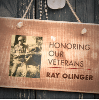 Thank you to John Olinger for submitting Ray Olinger to be featured in Secure America Now's Veteran recognition program: Home of the Free - Because of the Brave.  John writes that Ray Olinger served in the army for 23 years and during the course of 3 years. He served in WWII, Korea, & Viet Nam. He is pictured here with a Japanese rifle in front of the courthouse that Tojo was tried in. He is buried in Bakersfield, California.  Thank you Ray for your service to our country!: HONORING  OUR  VETERANS  RAY OLINGER Thank you to John Olinger for submitting Ray Olinger to be featured in Secure America Now's Veteran recognition program: Home of the Free - Because of the Brave.  John writes that Ray Olinger served in the army for 23 years and during the course of 3 years. He served in WWII, Korea, & Viet Nam. He is pictured here with a Japanese rifle in front of the courthouse that Tojo was tried in. He is buried in Bakersfield, California.  Thank you Ray for your service to our country!