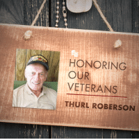 America, God, and Love: HONORING  OUR  VETERANS  THURL ROBERSONN Thank you to Judy Roberson for submitting Thurl Roberson to be featured in Secure America Now's veteran recognition program: Home of the Free - Because of the Brave.  Judy writes that Thurl is an amazing man. He is a Marine and is still active at 92 years of age. He also still works on aircraft and has a mind like a steel trap. He is a man of God and to know him is to love him!  Thank you Thurl for your service to our country!