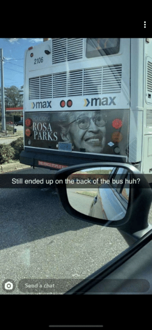 Honoring Rosa Parks on the back of a bus?🤔: Honoring Rosa Parks on the back of a bus?🤔