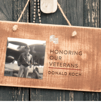 """America, Click, and Gang: HONORING  VETERANS  DONALD KOCH  OUR Thank you to Susan Koch for submitting Donald Koch to be featured in Secure America Now's veteran recognition program: Home of the Free Because of the Brave!  Susan writes that Lt. Colonel Donald Koch was a P-38 pilot of the 428th Fighter Squadron of the 474th Fighter Group in WWII. He is featured in the book The """"Geyser Gang."""" He was shot down and was a POW for nine months in Barth Germany, Stalag I. He was in the Air Force for 22 years. He was my Hero.  Click here to submit your own veteran to be featured: s.heyo.com/b5ba69"""