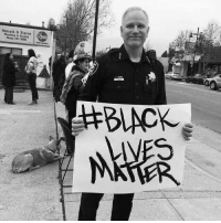 "oswinstark:  trashmouse:  brinconvenient:  sabbatine:  atsirhc:  smalllittlekitty:  The man holding this #BlackLivesMatter sign is Richmond (CA) police chief Chris Magnus, whose department has not lost an officer or killed a citizen since 2007, the year after he took over. This is not an accident, this peacefulness is the direct result of his leadership. Police departments across the country should be looking to his department as an example to be followed.    'Chief Magnus changed the department from one that focused on ""impact teams"" of officers who roamed rough neighborhoods looking to make arrests to one that required all officers to adopt a ""community policing"" model, which emphasizes relationship building.  ""We had generations of families raised to hate and fear the Richmond police, and a lot of that was the result of our style of policing in the past.  It took us a long time to turn that around, and we're seeing the fruits of that now. There is a mutual respect now, and some mutual compassion.""'  the interview is pretty awesome if you want to watch it: https://www.yahoo.com/news/richmond-california-police-chief-chris-magnus-talks-community-policing-in-katie-couric-interview-044448393.html?ref=gs  They also do regular officer trainings with roleplay scenarios and airsoft guns to teach them how to de-escalate, how to avoid firing when fired upon, and how to deal with people with weapons in a way that doesn't end with a shootout.  They also apparently go through the details of officer-involved shootings elsewhere, picking them apart and using them as teaching tools for what NOT to do or what the officer could have done to avoid shooting the person.  Essentially, they take a proactive approach to not shooting people and put time, money, and effort into it. Richmond isn't a low-crime area. Other cities could follow their model and almost certainly see results.  Who'd have thought it would take so much work to learn how to just … NOT shoot people  These are the sort of police officers who deserve respect.  The ones who take the time to build a relationship with the community they're supposed to be protecting, and work to actually protect people instead of just shooting anyone who looked scary.  In before anyone tries to say that the only reason this works is because Richmond is probably like ""not as bad"" as other places in the US I grew up here. I'm close to Richmond. It used to be one of the most dangerous cities in America. Literally. In 2006 it was #11 in the Most Dangerous Cities in America.  Now? It doesn't even break the top 100. What changed? This guy became police chief in 2007. IT'S SO FUCKING WEIRD HOW THAT WORKS! *looks pointedly at every other police force in America* : Honrath &Stacey  Plambi a Heating  Phono 237.50 oswinstark:  trashmouse:  brinconvenient:  sabbatine:  atsirhc:  smalllittlekitty:  The man holding this #BlackLivesMatter sign is Richmond (CA) police chief Chris Magnus, whose department has not lost an officer or killed a citizen since 2007, the year after he took over. This is not an accident, this peacefulness is the direct result of his leadership. Police departments across the country should be looking to his department as an example to be followed.    'Chief Magnus changed the department from one that focused on ""impact teams"" of officers who roamed rough neighborhoods looking to make arrests to one that required all officers to adopt a ""community policing"" model, which emphasizes relationship building.  ""We had generations of families raised to hate and fear the Richmond police, and a lot of that was the result of our style of policing in the past.  It took us a long time to turn that around, and we're seeing the fruits of that now. There is a mutual respect now, and some mutual compassion.""'  the interview is pretty awesome if you want to watch it: https://www.yahoo.com/news/richmond-california-police-chief-chris-magnus-talks-community-policing-in-katie-couric-interview-044448393.html?ref=gs  They also do regular officer trainings with roleplay scenarios and airsoft guns to teach them how to de-escalate, how to avoid firing when fired upon, and how to deal with people with weapons in a way that doesn't end with a shootout.  They also apparently go through the details of officer-involved shootings elsewhere, picking them apart and using them as teaching tools for what NOT to do or what the officer could have done to avoid shooting the person.  Essentially, they take a proactive approach to not shooting people and put time, money, and effort into it. Richmond isn't a low-crime area. Other cities could follow their model and almost certainly see results.  Who'd have thought it would take so much work to learn how to just … NOT shoot people  These are the sort of police officers who deserve respect.  The ones who take the time to build a relationship with the community they're supposed to be protecting, and work to actually protect people instead of just shooting anyone who looked scary.  In before anyone tries to say that the only reason this works is because Richmond is probably like ""not as bad"" as other places in the US I grew up here. I'm close to Richmond. It used to be one of the most dangerous cities in America. Literally. In 2006 it was #11 in the Most Dangerous Cities in America.  Now? It doesn't even break the top 100. What changed? This guy became police chief in 2007. IT'S SO FUCKING WEIRD HOW THAT WORKS! *looks pointedly at every other police force in America*"