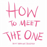 Memes, Buzzfeed, and Dreams: Honw  To MEET  THE ONE  BECKY BARNI COAT /BUZZFEED Follow these steps and find the person of your dreams 💕 (by @beckybarnicomics)
