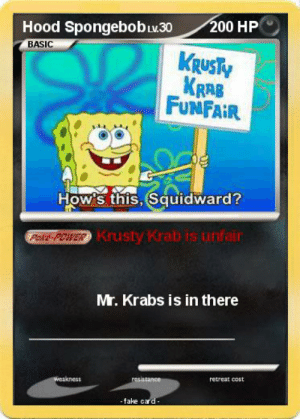 Spongebob Krusty