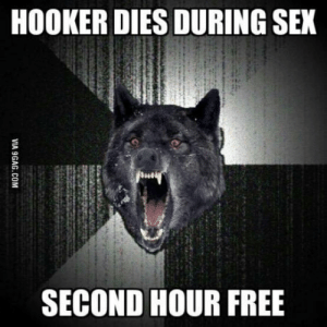 Bringing insanity wolf back to its roots.: HOOKER DIES DURING SEX  SECOND HOUR FREE Bringing insanity wolf back to its roots.