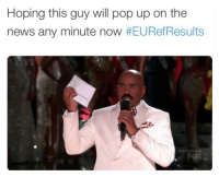 Blackpeopletwitter, News, and Pop: Hoping this guy will pop up on the  news any minute now #EURefResults  LIVE  FOX <p>There&rsquo;s still hope (via /r/BlackPeopleTwitter)</p>