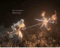 dark souls 3 in a picture: Host of Embers  White power dark souls 3 in a picture