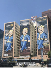 The Fallout 76 Mural for E3 Looks to be Finished! https://t.co/koIyfXtH0s: HOT EL  Ouir Fitur  Fallaut  76  PRIM The Fallout 76 Mural for E3 Looks to be Finished! https://t.co/koIyfXtH0s