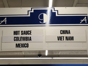 The Republic of Hot Sauce is recognized as a sovereign nation, 2019: HOT SAUCE  COLOMBIA  MEXICO  CHINA  VIET NAM The Republic of Hot Sauce is recognized as a sovereign nation, 2019