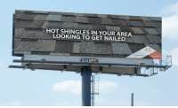 "Memes, Http, and Shingles: HOT SHINGLES IN YOUR AREA  LOOKING TO GET NAILED  SIMONIS  43 210 9876  SIG <p>This company wins pun of the year via /r/memes <a href=""http://ift.tt/2hUEcoP"">http://ift.tt/2hUEcoP</a></p>"