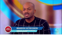"Brandon Victor Dixon responds to critics who say it was not the time or place to address Vice President-elect Mike Pence during Hamilton: An American Musical: ""If people are coming to see Hamilton to leave their politics behind, they came to the wrong show."" http://abcn.ws/2gehXsZ: HOT  TOPICS  BRANDON VICTOR DIXON  HAMILTON: ANAMERICAN MUSICAL  VDIXON  Brandon Victor Dixon responds to critics who say it was not the time or place to address Vice President-elect Mike Pence during Hamilton: An American Musical: ""If people are coming to see Hamilton to leave their politics behind, they came to the wrong show."" http://abcn.ws/2gehXsZ"