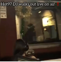 Memes, Live, and Hot97: Hot97 DJ walksout live on air Hot97 DJ walks out live on air❗️❗️