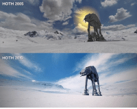 Times change: HOTH 2005  HOTH 2015 Times change