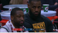 D Wade: man we gotta get rid of these bums and get some fresh blood in here   Lebron: https://t.co/NJNnXTDQBI: HOU 120CLE 86 4th  1:48 20 ESr  TO: D Wade: man we gotta get rid of these bums and get some fresh blood in here   Lebron: https://t.co/NJNnXTDQBI