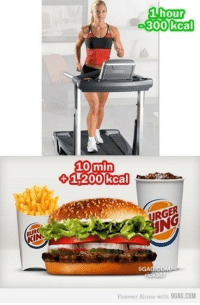 skeletonmug: duckbunny:  kate-wisehart:  drtanner-sfw:  rikakuuma:  vulnerate:  the-exercist:  dreamofunconsciousness:  the-exercist:  my-way-to-get-skinny:  Still hungry?  Absolutely! The average active adult needs 2,000 calories per day in order to function in a safe and healthy manner. If I'm active to the point where I consistently run 1+ hour every day, then it is far more likely that my caloric needs are around 2,400-2,500. Considering that, a meal of 1,200 calories would perfectly suit my needs. It would supply roughly half of my calorie requirements, which is a God-send since a fast food meal is relatively cheap. It's a great value, especially if I don't have much time to cook or have the resources to prepare my own meals! The average burger is going to supply me with significant protein and carbs. That's exactly what I'd need in order to build more muscle and have enough energy to make it through a workout. Even the sugar within the meal can be beneficial in supplying me with a boost of energy and can stop me from feeling hungry for a prolonged period of time. Not half bad. Is this the most healthy meal known to man? Of course not. But it's still a very reasonable deal and the calorie count is well within the average adult's daily needs. Don't let calories scare you! You need them. If you were capable of burning off an entire meal within the hour, you'd probably be dead by now.  1200 empty calories in a meal next to no nutrition. all the calories are sugar and fat. that's it. you'll have no energy and have glucose spikes in your blood because the lack of fiber because of the lack of complex carbs. this is diabetes in a meal. so no, you should not be hungry for diabetes  Nutritionally, this BK meal contains roughly 28g of protein and 3g of dietary fiber. It potentially also includes35% of our Vitamin C daily requirements, 2% Vitamin A, 12% calcium, and 27% iron. Of the 1,010 calories (that I could verify directly from the company's nutritional information gu