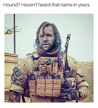 Memes, 🤖, and The Wall: Hound'? Haven't heard that name in years. He's the K9 for The Fellowship of the Wall.