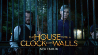 On September 21, discover a place where magic lives. Watch the new trailer for The House With a Clock In Its Walls. #HouseWithAClock 🕒: HOUSE  CLOCKWALLS  WITH A  INITS  NEW TRAILER On September 21, discover a place where magic lives. Watch the new trailer for The House With a Clock In Its Walls. #HouseWithAClock 🕒