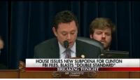 """America, Facebook, and Fbi: HOUSE ISSUES NEW SUBPOENA FOR CLINTON  FBI FILES, BLASTS """"DOUBLE STANDARD""""  BREAKING TONIGHT  MR CHAFFETZ """"You are hereby served."""" Rep. Jason Chaffetz served a subpoena demanding the FBI's full investigative file on the Hillary Clinton email probe. - Fox News killary rememberbenghazi hillaryforprison2016 liberals libbys libtards liberallogic liberal ccw247 conservative constitution stophillary2016 nobama stupidliberals merica america stupiddemocrats donaldtrump trump2016 patriot trump yeeyee hillno hillary2016 readyforhillary clinton2016 maga Add me on Snapchat and get to know me. Don't be a stranger: thetypicallibby Partners: @right_wing_conservative_ian 🐍 @tomorrowsconservatives 🇺🇸 @too_savage_for_democrats 🐍 @conservative.patriot 🇺🇸 @always.right 🐘 TURN ON POST NOTIFICATIONS! Make sure to check out our joint Facebook - The Political Savages Joint Instagram - @thepoliticalsavages Joint Twitter - @wethreesavages Follow my backup page: @the_typical_liberal_backup"""