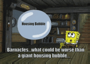Giant, Wall Street, and Sponge: Housing Bubble  Barnacles...what could be worse than  a giant housing bubble. The Sponge of Wall Street (The 2008 Recession in a Nutshell)