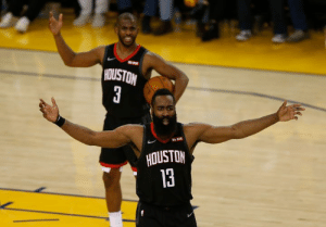 "James Harden and Chris Paul's relationship is ""unsalvageable""  CP3 demanded a trade and Harden told the front office to choose between them after losing to the Warriors, per Vince Goodwill of Yahoo Sports: HOUSTON  3  R KIT  HOUSTON  13 James Harden and Chris Paul's relationship is ""unsalvageable""  CP3 demanded a trade and Harden told the front office to choose between them after losing to the Warriors, per Vince Goodwill of Yahoo Sports"