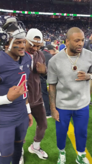 Houston love. #WeAreTexans  @russwest44 | @deshaunwatson https://t.co/bffBDq3pHl: Houston love. #WeAreTexans  @russwest44 | @deshaunwatson https://t.co/bffBDq3pHl