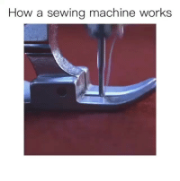 Hello, How, and Sewing Machine: How a sewing machine works Hey hi hello