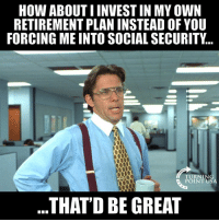 Social Security Really Is A Ponzi Scheme... #BigGovSucks: HOW ABOUT I INVEST IN MY OWN  RETIREMENT PLAN INSTEAD OF YOU  FORCING ME INTO SOCIAL SECURITY...  TURNIN  POINT USA  THATD BE GREAT Social Security Really Is A Ponzi Scheme... #BigGovSucks