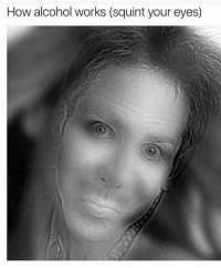 Memes, Alcohol, and 🤖: How alcohol works (squint your eyes) this aint it