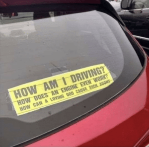 How am I driving?: How am I driving?