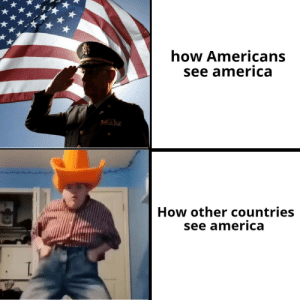 *star spangled banner plays* by theboyd34 MORE MEMES: how Americans  see america  How other countries  see america *star spangled banner plays* by theboyd34 MORE MEMES
