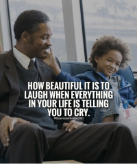 Sometimes it feels like everything is going wrong, but try shifting your focus and be thankful for what is right in your life. Learn to laugh and enjoy the little things. LIKE if you agree. SHARE with your friends.: HOW BEAUTIFUL ITISTO  LAUGH WHENEVERYTHING  IN YOUR LIFE ISTELLING  YOU TO CRY.  BusinessMindset1 Sometimes it feels like everything is going wrong, but try shifting your focus and be thankful for what is right in your life. Learn to laugh and enjoy the little things. LIKE if you agree. SHARE with your friends.