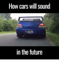 This is amazing 😂😂 (tap 🔊)  via Car Throttle: How cars will sound  EBO  in the future This is amazing 😂😂 (tap 🔊)  via Car Throttle