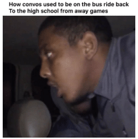 😂😂💯 👉🏽(via: willis_cj-twitter): How convos used to be on the bus ride back  To the high school from away games 😂😂💯 👉🏽(via: willis_cj-twitter)