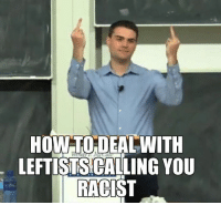 Memes, Racist, and Argument Is Invalid: HOW DEAL WITH  LEFTISTS CALLING YOU  RACIST Yup, you're argument is invalid