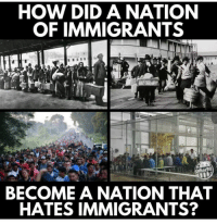 How, Did, and How Did: HOW DID A NATION  OF IMMIGRANTS  er98  BECOME A NATION THAT  HATES IMMIGRANTS?