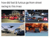 😏😂😕: how did fast & furious go from street  racing to this Imao 😏😂😕