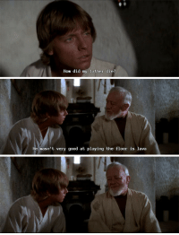 <h2>ObiWan Trollololobi</h2>: How did my father die?   He wasn't very good at playing the floor is lava <h2>ObiWan Trollololobi</h2>