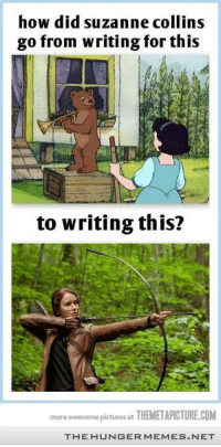 """The Hunger Games, Games, and Http: how did suzanne collins  go from writing for this  to writing this?  more awesome pictures at THEMETAPICTURE.COM  THE HUNGERMEMES.NET <p>Hunger Games <a href=""""http://ift.tt/1moJmWI"""">http://ift.tt/1moJmWI</a></p>"""